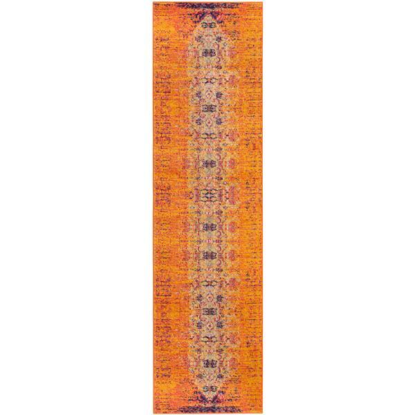 "Safavieh Monaco Decorative  Rug - 2' 2"" x 10' - Orange"