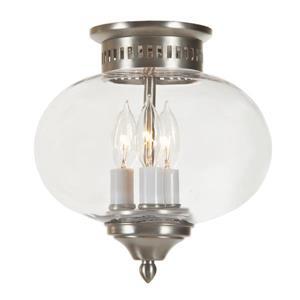 JVI Designs Three light medium flush mount onion lantern