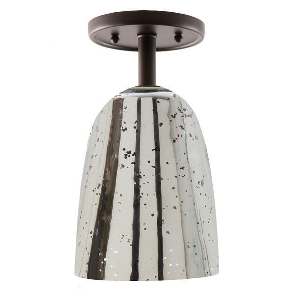 JVI Designs One light grand central ceiling mount