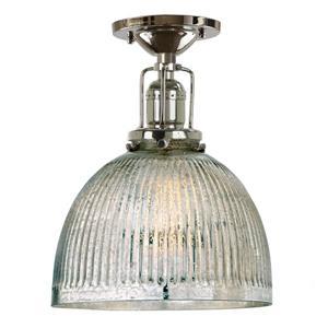 JVI Designs Union Square one light mercury Madison ceiling mount