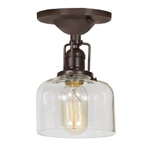 JVI Designs Union Square One Light Shyra Ceiling Mount