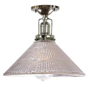 JVI Designs Union Square one light mercury  Bailey ceiling mount