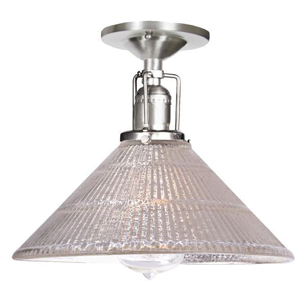 JVI Designs Union Square one light mercury  Bailey ceiling mount