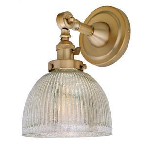 One light swivel mercury Madison wall sconce -Brass - 11.5