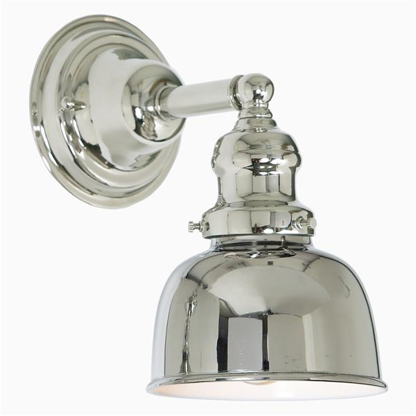 JVI Designs Union Square one light M2 bathroom wall sconce - Chrome