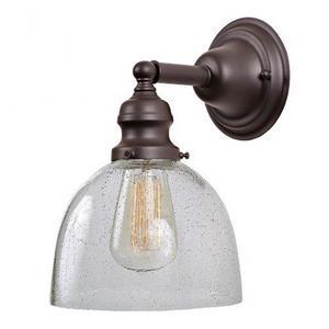 JVI Designs 1-light Mercury Ashbury bathroom - Bronze - 10.5-in