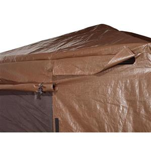 Housse d'hiver pour abri-soleil Sojag(MD), 12' x 16', brun