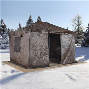 Winter Cover for 10' x 14' Sojag® Sun Shelters - Brown