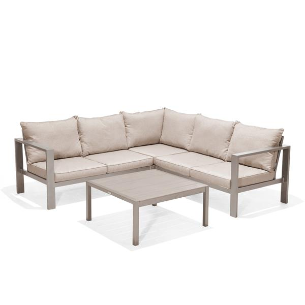 Scancom Morella Patio Set - Polyester - Beige - 4 pcs