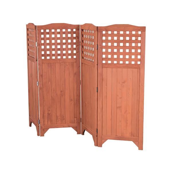 Polyester Anthracite 215 x 170 cm With Iron 4 Panels SAILUN Folding Screen Protective Screens Room Divider Screen Room Partition Wall Furniture Outdoor Screens for Patio Privacy
