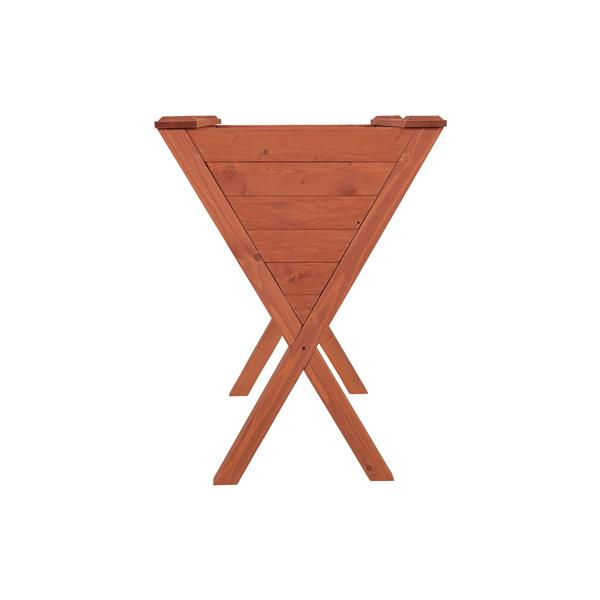 """Jardinière surélevée, 31"""" x 32"""", cèdre, brun"""