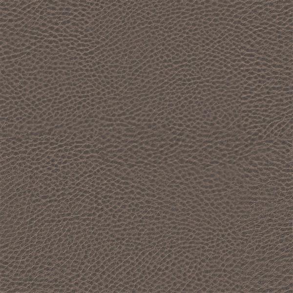 Fauteuil inclinable Kate en cuir reconstitué, gris-brun