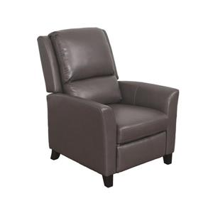 CorLiving Kate Bonded Leather Recliner - Brownish-Grey
