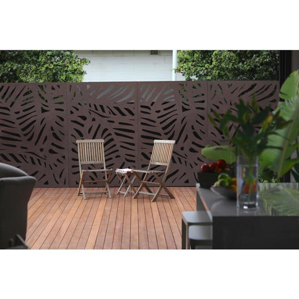Stratco Jungle Bamboo Privacy Screen/Wall Art - 48-in x 24-in - Brown