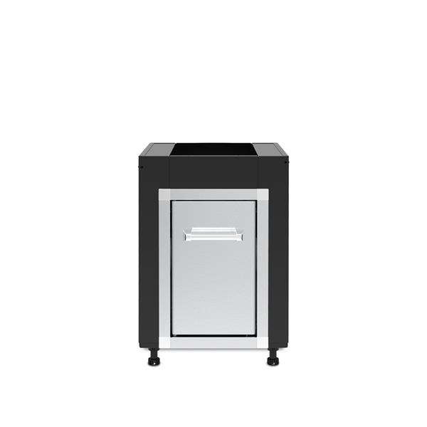 Broil King® Pod Cabinet with Door - Black/Stainless Steel