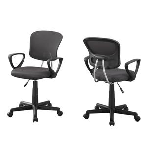 Monarch Kids Mesh Office Chair - Grey