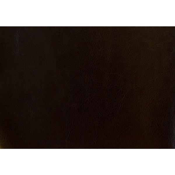 Monarch Kids Faux Leather Chair - 2 Pieces - Dark Brown