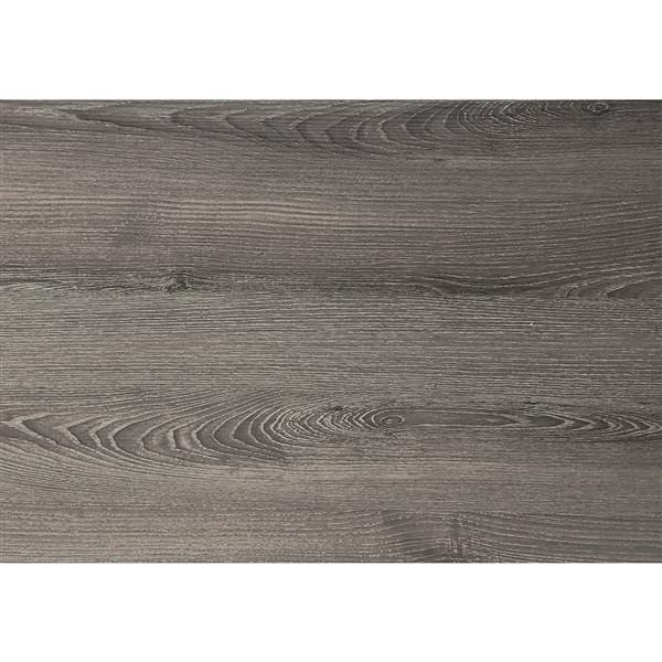 Classeur en bois à 3 tiroirs, taupe foncé