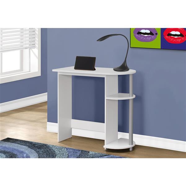 Monarch Kids Computer Desk - 32-in - White