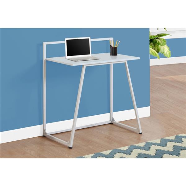 Monarch Kids Computer Desk - 30-in - White
