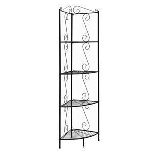Monarch Corner Bookcase - 70-in- Copper