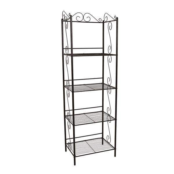 Monarch Bookcase - 70-in - Copper