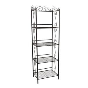 Monarch Bookcase - 70-in - Copper
