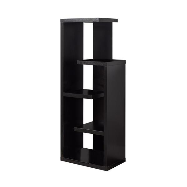 Monarch Bookcase - 48-in - Cappuccino