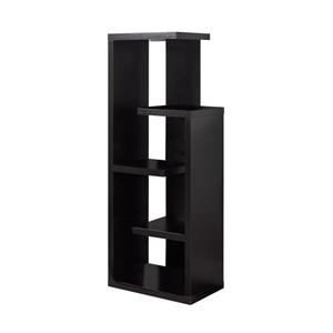 Monarch Bookcase - 48-in - Cappuccino