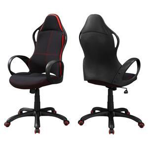 Chaise de bureau contemporain, noir