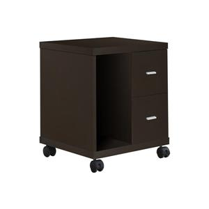 Contemporary Office Cabinet - Cappuccino - 23