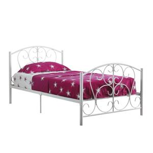 Monarch Bed Frame - Twin - White