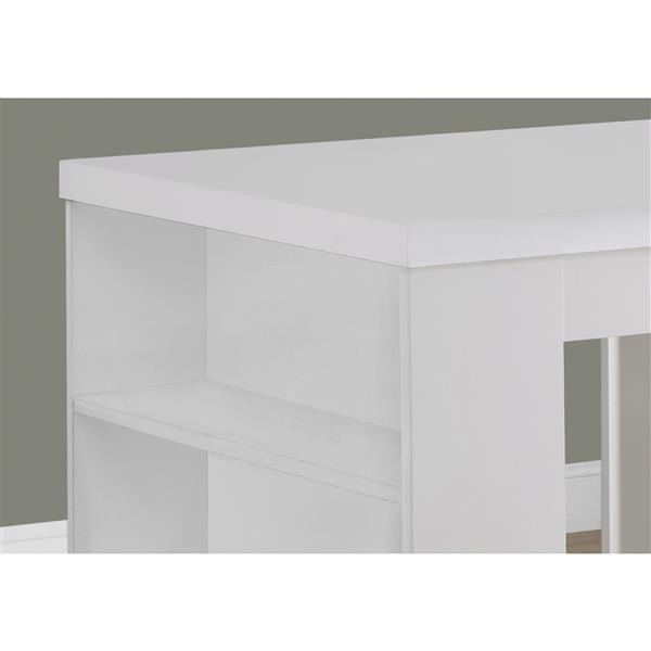 Monarch Dining Table - 32-in x 36-in - White