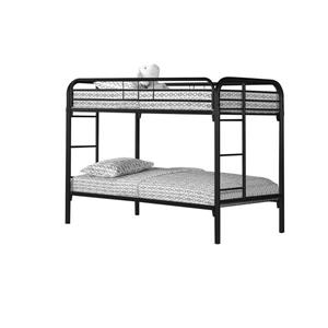 Monarch Bunk Bed - Twin - Black/Metal
