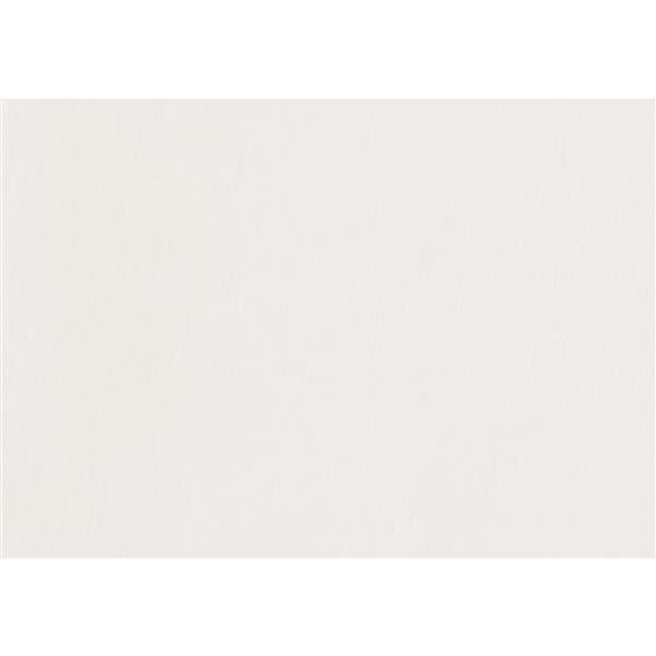 Portemanteau traditionnel, 72 po, blanc antique