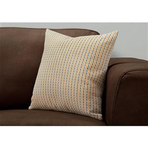 Coussin décoratif, velours côtelé, 18