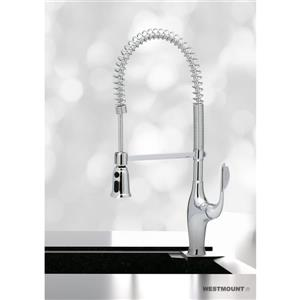 Westmount Debra Kitchen Faucet Pull-Down Spray - 1-Lever - 27-in