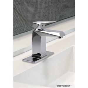 Robinet de salle de bain Isabella à 1 levier, chrome poli