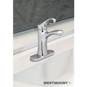 Robinet Yonkers de salle de bain à levier unique, chrome