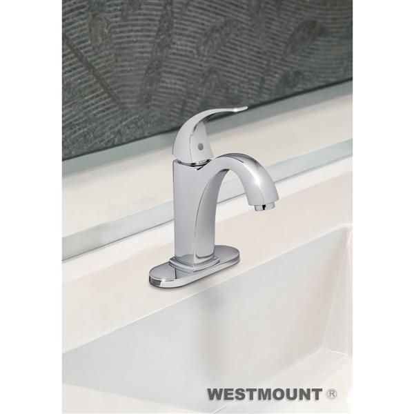 Westmount HAYWARD, Solid Brass, Single Lever Bathroom Faucet