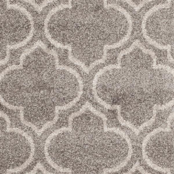 Safavieh Amherst Geometric Rug - 7' x 7' - Polypropylene - Gray