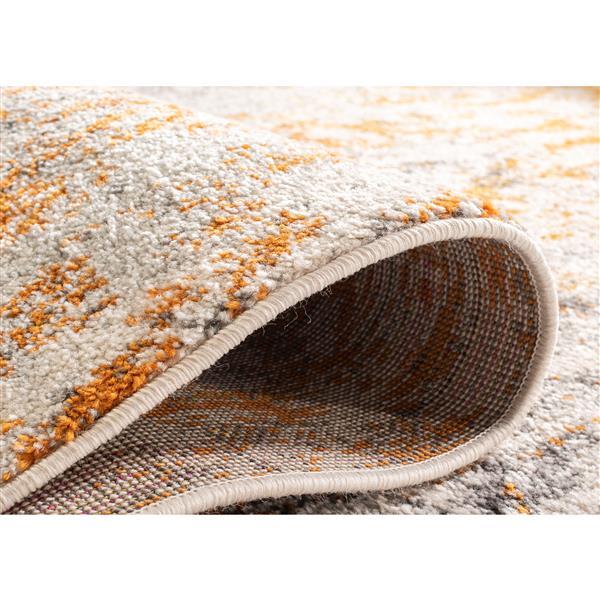 Safavieh Madison Ikat Rug - 3' x 5' - Polyester - Cream/Orange