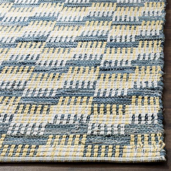 Safavieh Montauk Geometric Rug - 3' x 5' - Cotton - Gold/Multi