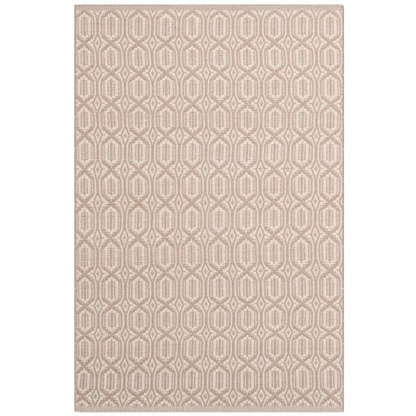Safavieh Montauk Geometric Rug - 3' x 5' - Cotton - Ivory/Gray