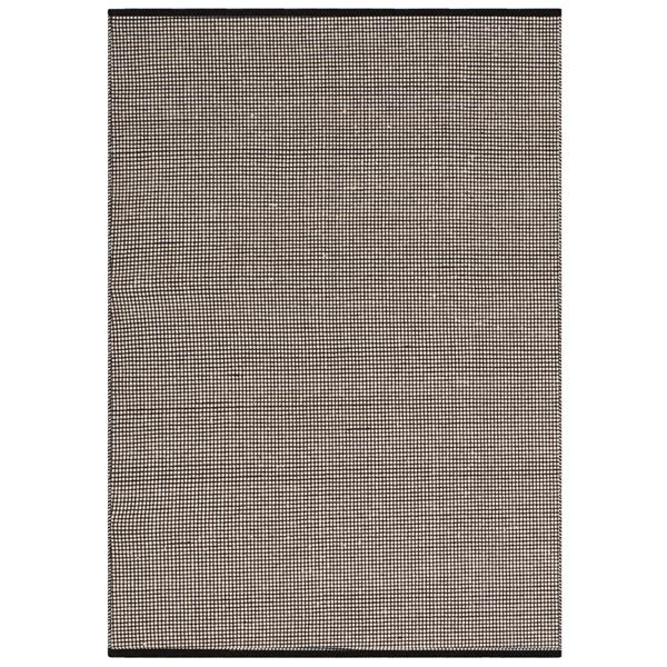Safavieh Montauk Geometric Rug - 3' x 5' - Cotton - Ivory/Black