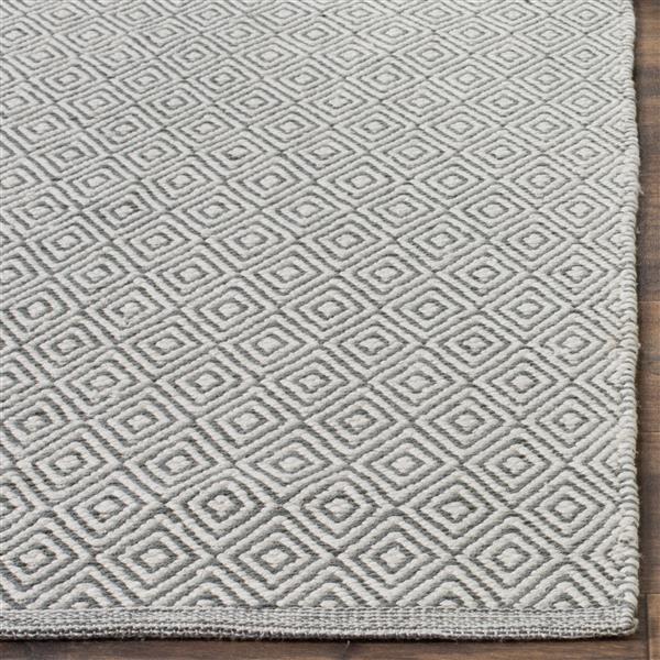 Safavieh Montauk Geometric Rug - 4' x 4' - Cotton - Ivory/Gray