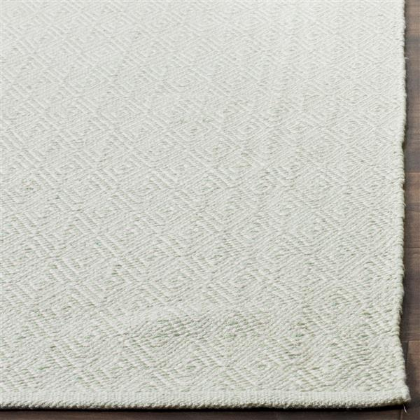 Safavieh Montauk Geometric Rug - 3' x 5' - Cotton - Ivory/Light Green