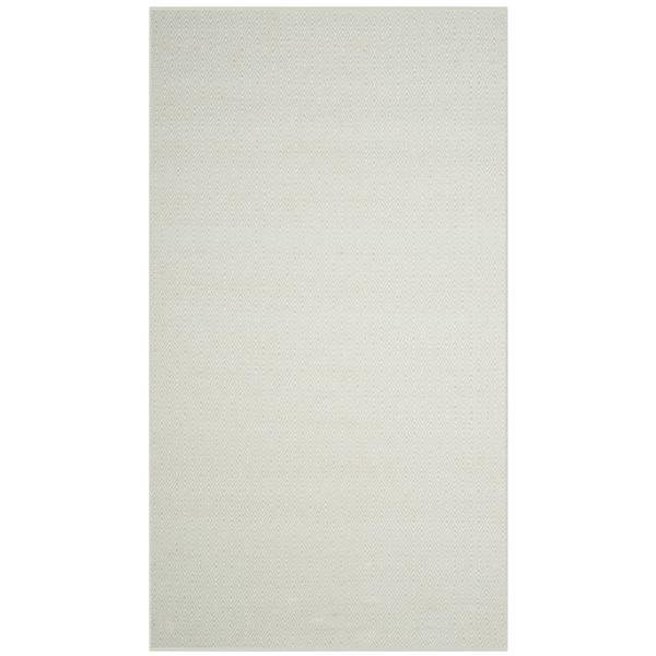 Safavieh Montauk Geometric Rug - 4' x 6' - Cotton - Ivory/Light Green