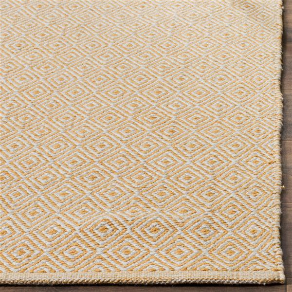 Safavieh Montauk Geometric Rug - 6' x 6' - Cotton - Ivory/Gold