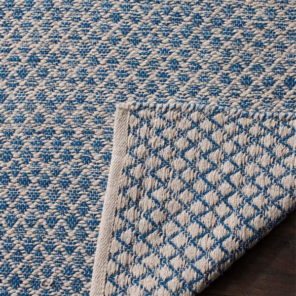 Safavieh Montauk Ombre Rug - 3' x 5' - Cotton - Blue/Ivory